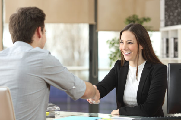 Connecting in sales and service
